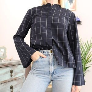 Madewell Bell Sleeves Button Up